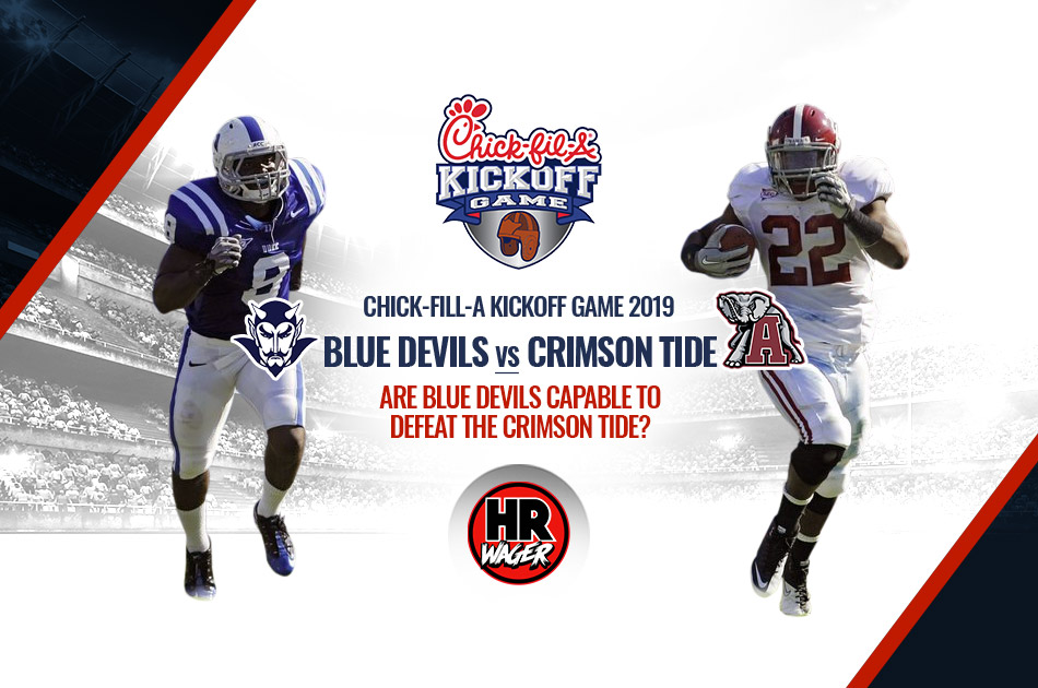 Alabama Meets Blue Devils at Chick-Fill-A Kickoff Game