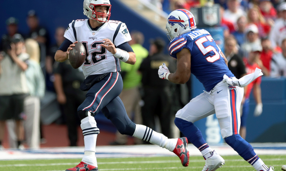 NFL Week 16 New England Patriots vs. Buffalo Bills Betting Odds