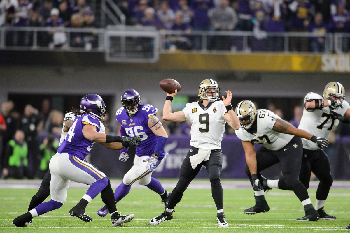 Saints vs. Vikings Betting Odds, 2019 Wild Card Game Preview