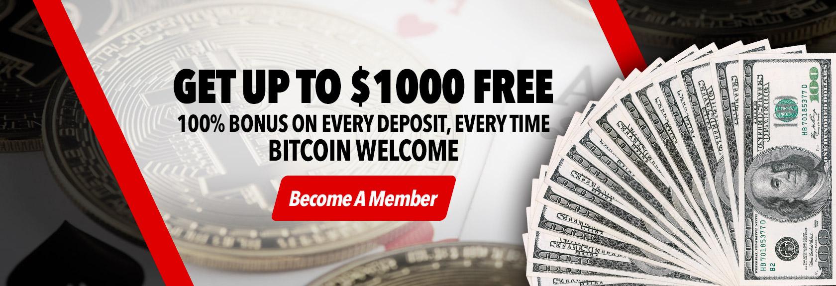 $1000 Bonus